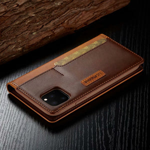 Premier Luxury Magnet Wallet Business Case for iPhone 11 Pro Max  XS XR XS Max