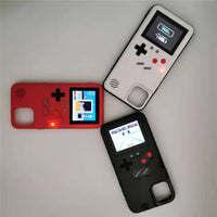 Color Screen Retro Game Full Protection Case For iPhone 11 Series