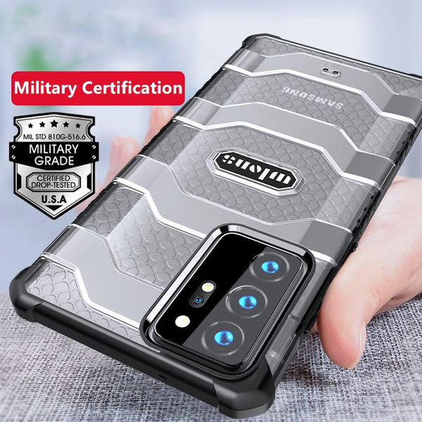Rugged Armor Heavy Duty Protective Case for Samsung Galaxy Note 20 Series