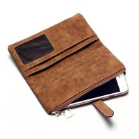Fashion Vintage Leather Wallet Case For all iPhones and Samsung Galaxy Ss