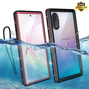 360 Full IP68 Waterproof Protection Case For Samsung Note 10