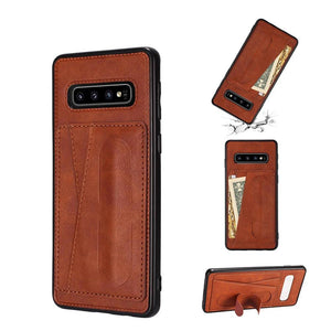 PU Leather Case with Card Slot Holder For Samsung Galaxy A70 A50 Note 10 Plus 10 9 S10 S9