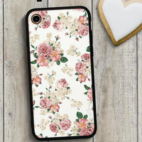 Colorful Floral Dried Flower Phone Case For iPhone 7 8 6 6s Plus 5s SE X
