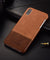 Luxury vintage genuine leather back case for iPhone X XS Max