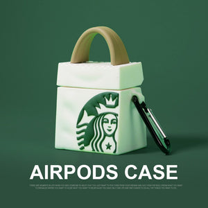 Fashion Mermaid Pattern For Airpods Case
