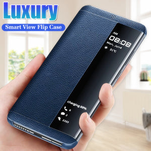 Luxury Leather Flip Case For Samsung Galaxy S9 S8 S10 Plus S10e