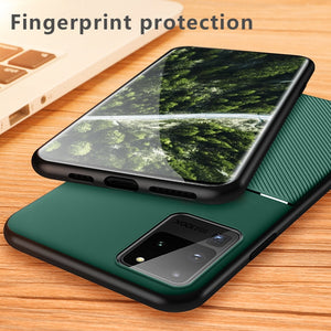Luxury Magnetic Ultra thin Leather Case For Samsung Galaxy S20 Series