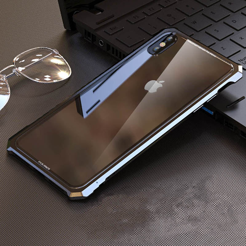 iphone xs case metal