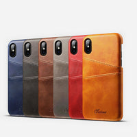 Summer 2018 Luxury Leather Case for iPhone X 8 6 6S Plus