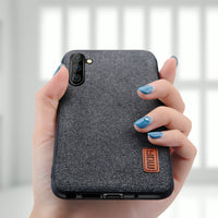 Shockproof fabric protective case for Samsung Galaxy Note 10 Note10 Plus