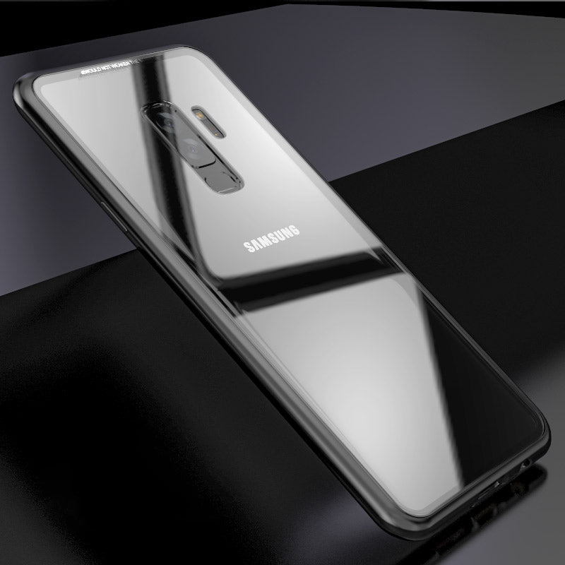 best service 0289b 2842e Special Magnetic Tempered Glass Case for Galaxy S9 S9 Plus Note 8 ...