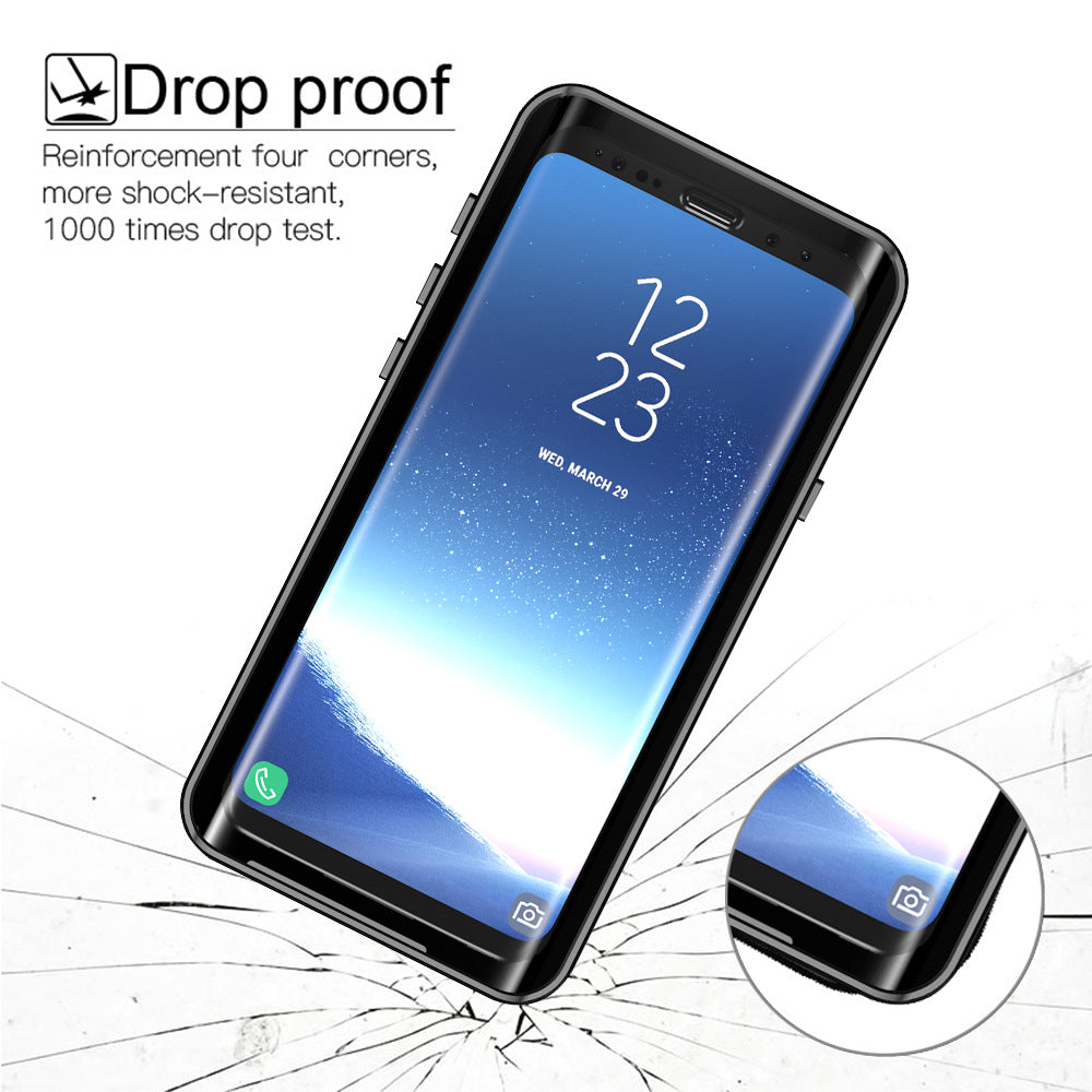 finest selection 9af38 84a4f Waterproof Case Cover for Samsung S9 S9 Plus