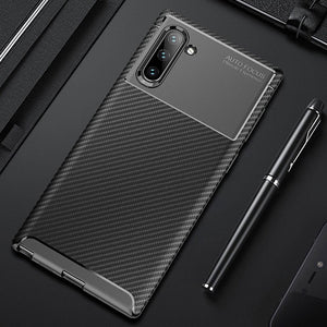 Luxury Carbon Fiber Bumper For Samsung Galaxy Note 10 Note 10 Note 10 Pro Note 9
