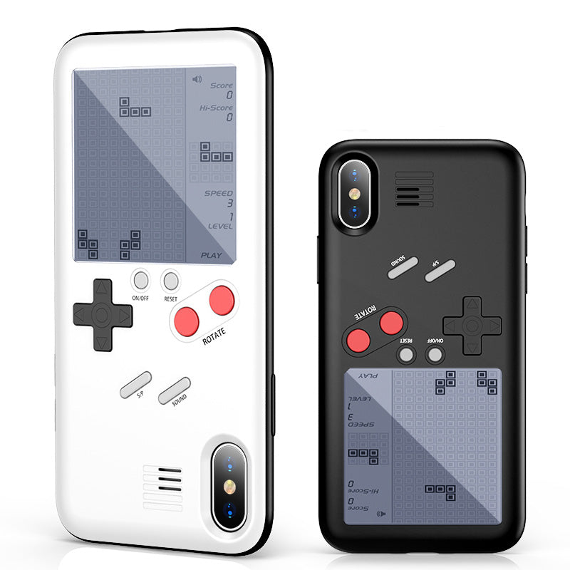 cheaper 24a36 2e866 Gameboy Tetris Phone Case For iPhone X 8 7 Plus