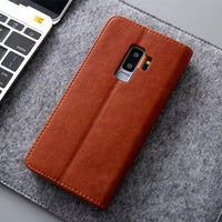 Business Leather Case for Samsung Galaxy S9 S9 Plus Note 8