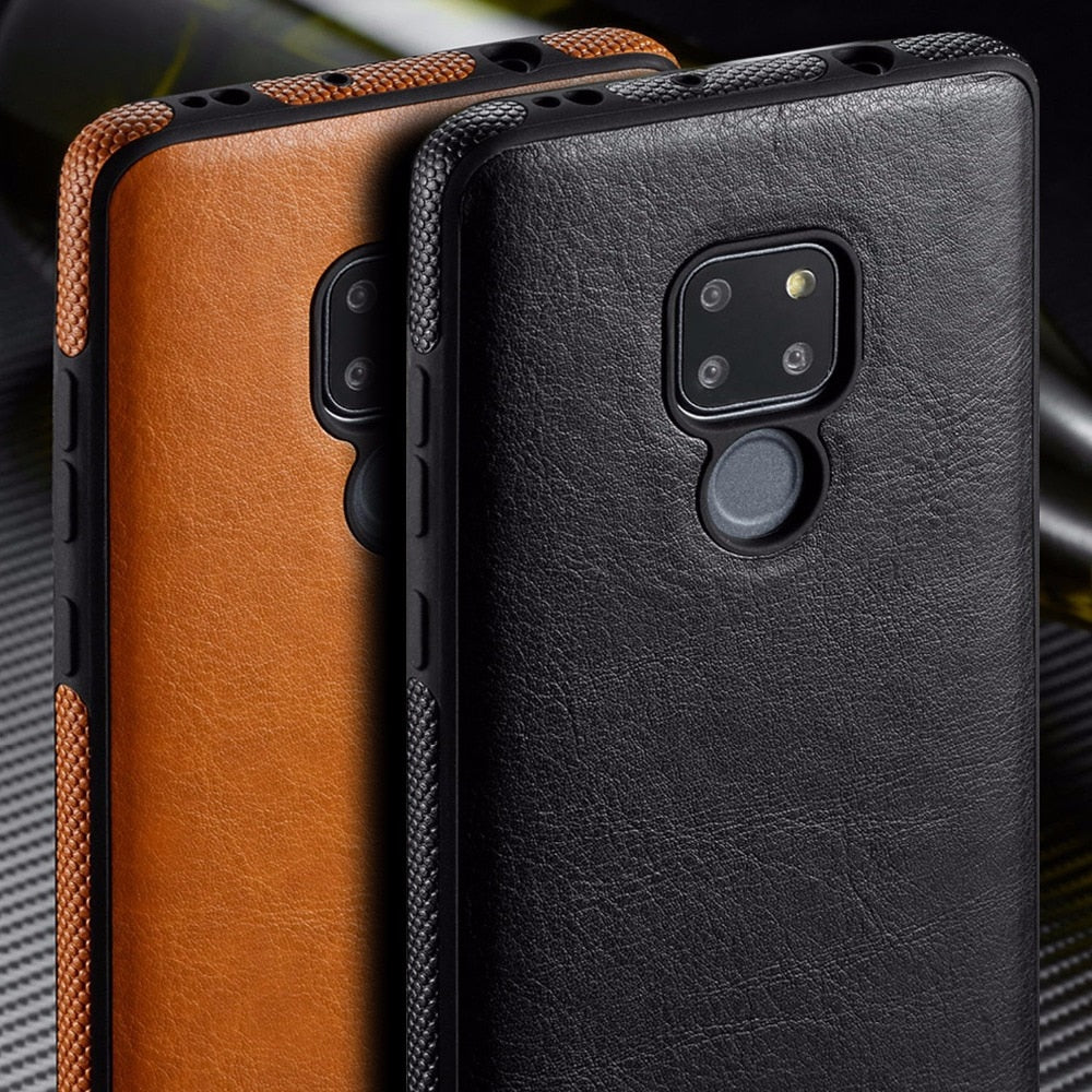 brand new e13af ec15c SLIM Luxury PU Leather Case For Huawei Mate 20 Pro Lite
