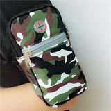Sport Support Pouch Earphone Hole Wallet Case For Iphones SS Galaxy
