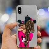 Baby & Mom Phone Case For iPhone X XS Max XR 8 7 6 6s Plus