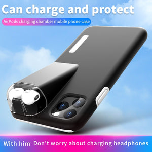 2 in 1 Waterproof Dirt-resistant Case With 300Mah Charging Box For iPhone 11 Pro Max