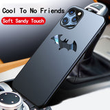 Ultra thin Metal Batman Matte PC Magnetic Protection Phone Case For iPhone 11 Series 1
