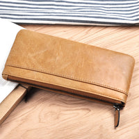 Vintage designed Genuine Leather For iPhone 6 7 8 X Plus