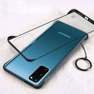 Hard Matte Translucent Frameless Phone Case For Samsung Note 20 Series