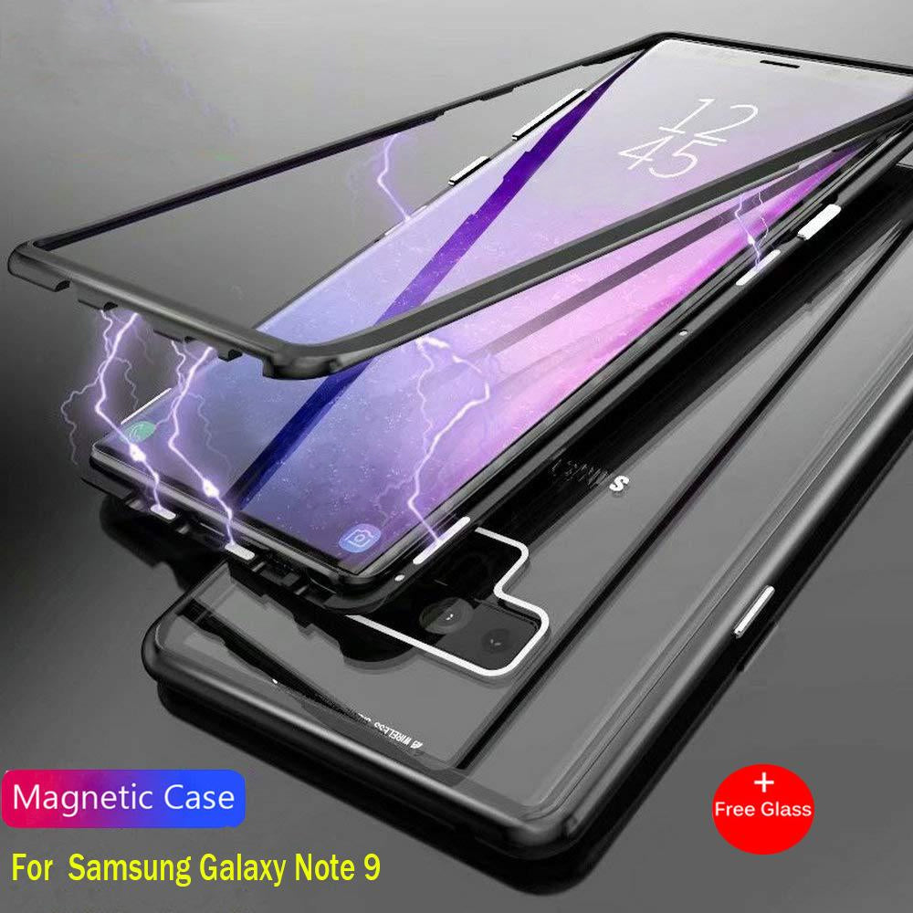 932e5516b Magnetic Adsorption Flip Case For Samsung Galaxy Note 9 - The ...