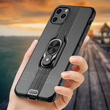 Shockproof Armor Stand Car Ring Case for iPhone 11 Series