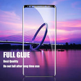 Tempered Glass For Samsung Galaxy S10 S10 Plus S10e S9 S8 Plus S7 S6 Edge Note 9 8 Curved Screen Protector