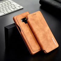 High Quality Funda Wallet Case For Samsung Galaxy Note 9 Note 8 S9 S9 Plus