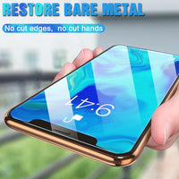 3 in 1 Full Screen Protector Tempered Glass On For iPhone 12 11 X Series