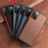 Soft Silicone Luxury PU Leather Case For Samsung Note 20 Ultra 3