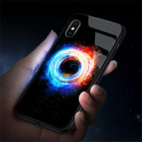 Tempred Glass Flash LED Light Full Protection Case for iPhone 11 Series