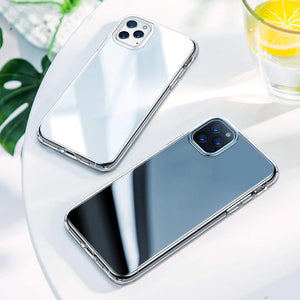 Crystal Clear Soft TPU Cover Transparent Case for iPhone 12 Series