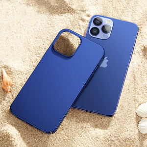 Ultra Thin Square Matte Full Cover Shockproof Frosted Phone Case For iPhone 12 Pro Max