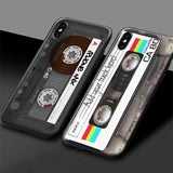 Vintage Cassette Tape Retro Style Soft Silicone Case For iPhone 11