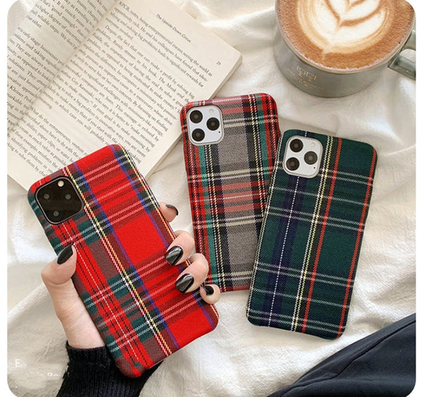 Soft Plush Fabric Phone Case for Iphone 11 Pro MAX X XR XS MAX