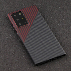 Real Pure Carbon Fiber Cover Case For Samsung Note 20 Ultra | Note 20