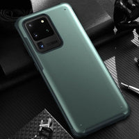 Silicone PC Hybrid Shockproof Case for Samsung S20 Series
