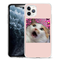 Super Cute Cats Printed Silicone Phone Case For iPhone 12 Series
