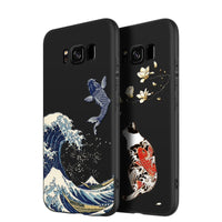 3D Art Relief Embossing Matte Soft Cover Case for Samsung Galaxy S20 Series