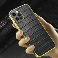 iphone 12 pro max leather case 1