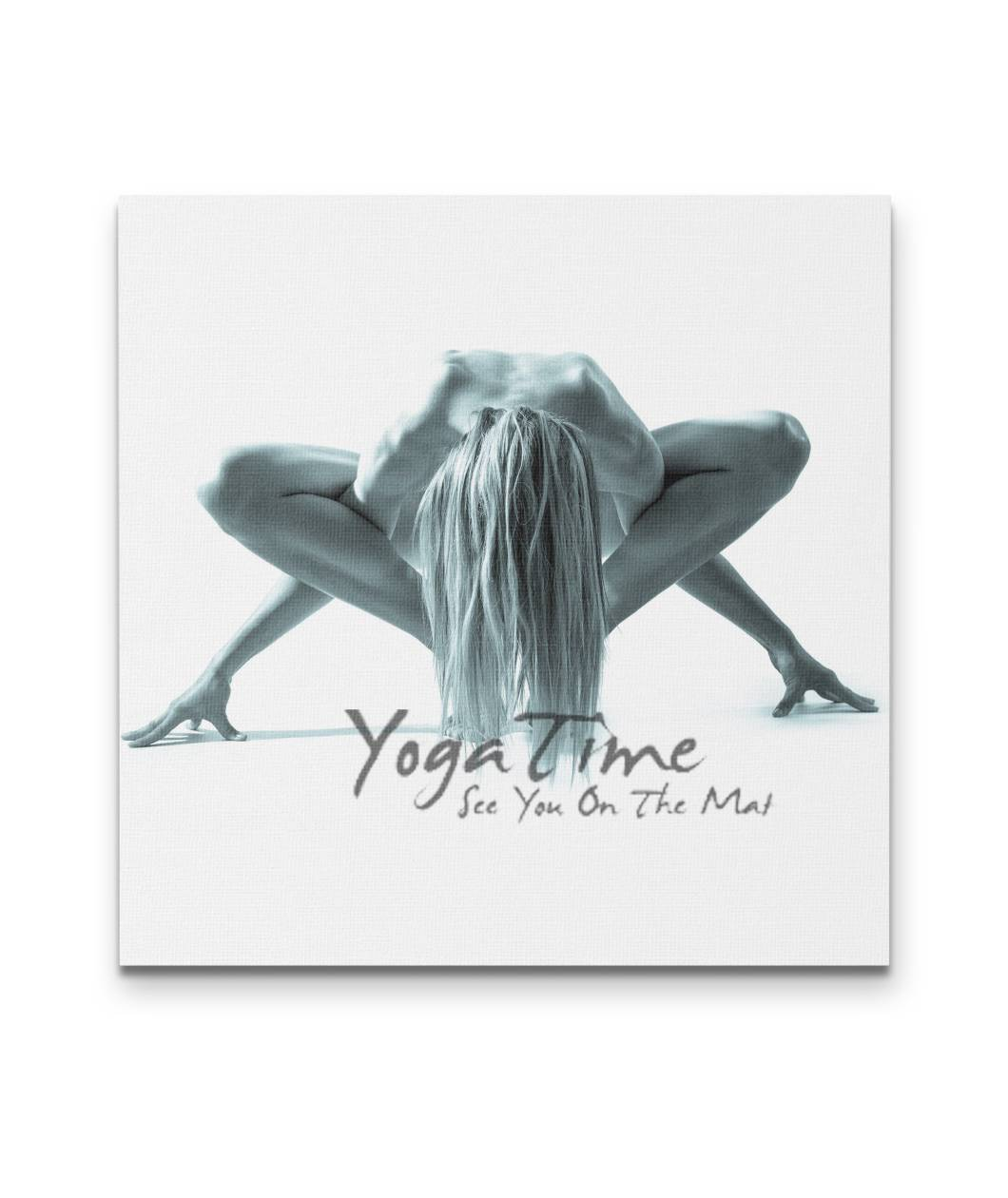 It's Yoga Time Canvas - Square 4 sizes