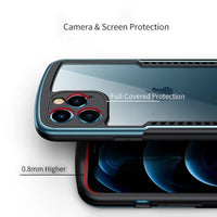 Shockproof Protective Transparent Waterproof Case For iPhone 12 Series