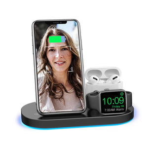 15W Fast Qi Wireless Charger Station