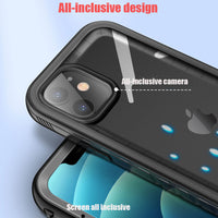 Full Body Shockproof Protect Screen Cases With Hand Strap Waterproof Case For iPhone 12 Series