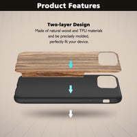 iPhone 12 Pro Max Wood Case