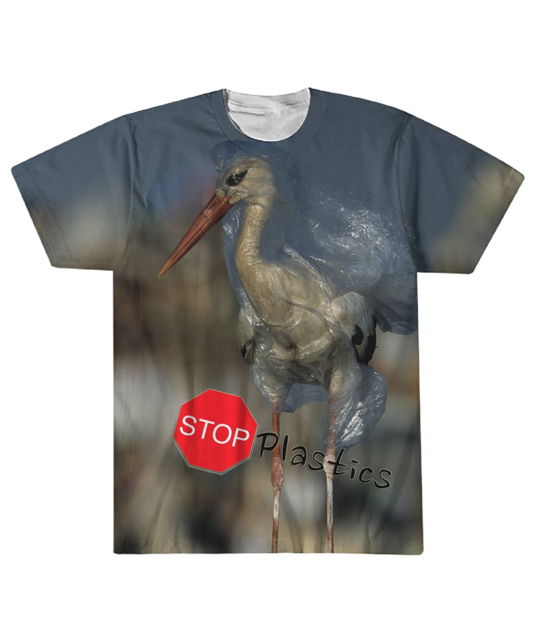 Stop plastic - Save the Ocean Sublimation Tee