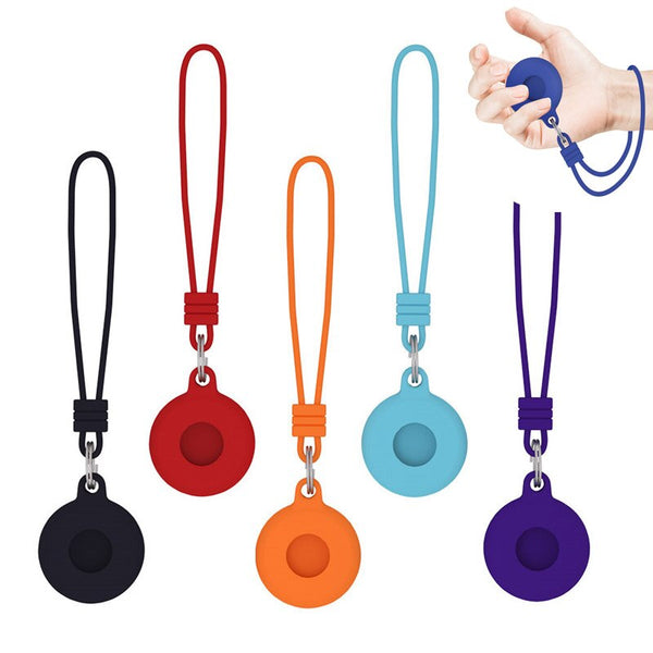 Lanyard Silicone Shockproof Anti scratch Case For AirTags