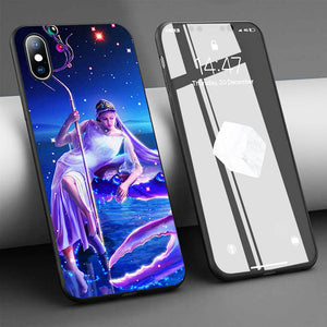 Zodiac Cancer Soft Silicone Phone Case for iPhone 11 Series